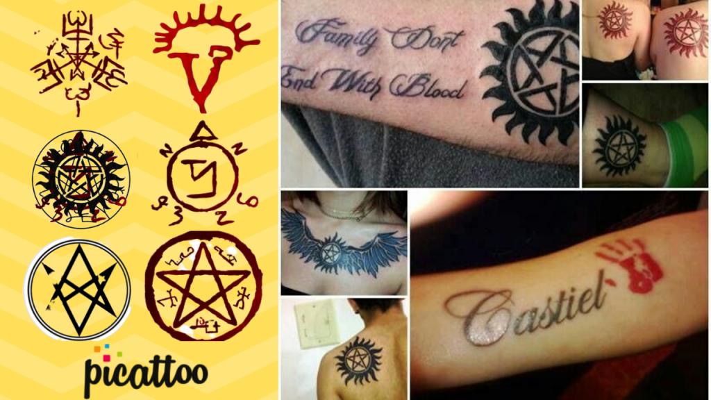 best-supernatural-tattoo-designs