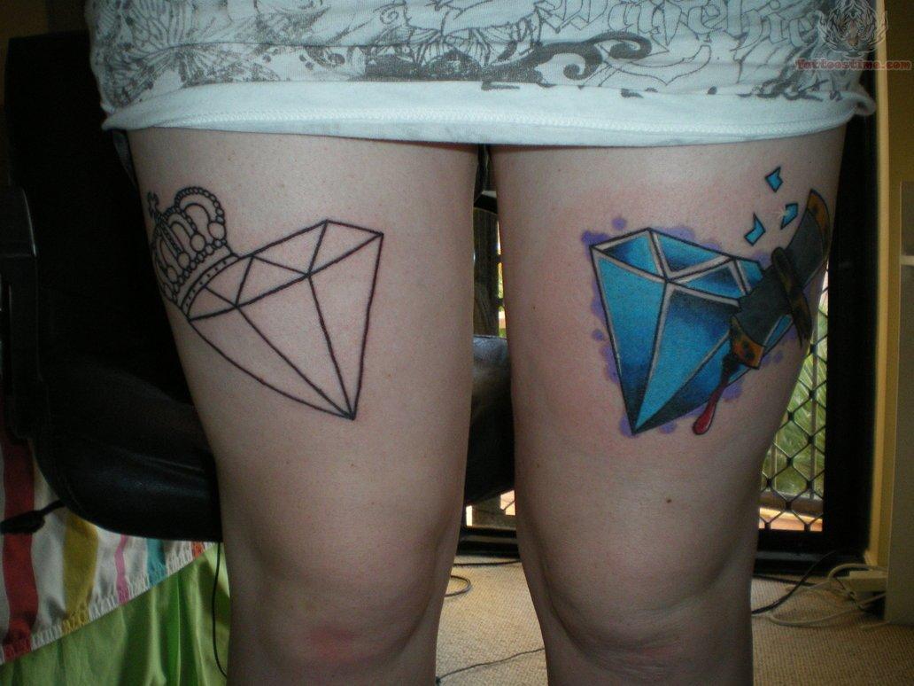 Legs Tattoo design 1