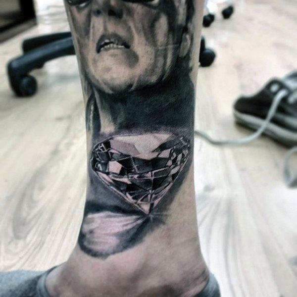 Legs Tattoo design 9
