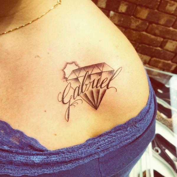 Shoulders Tattoo design 5