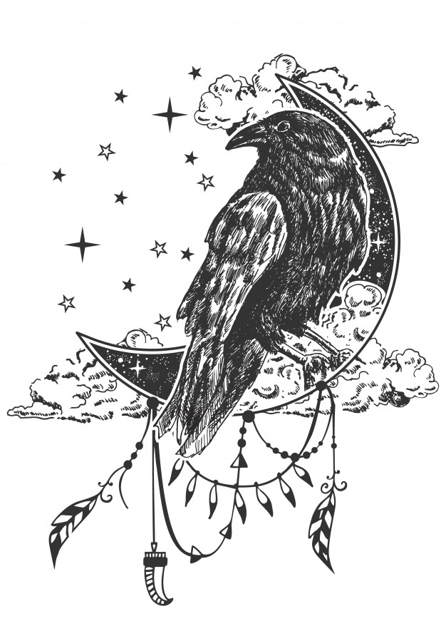 Norse Mythology of Raven Tattoo