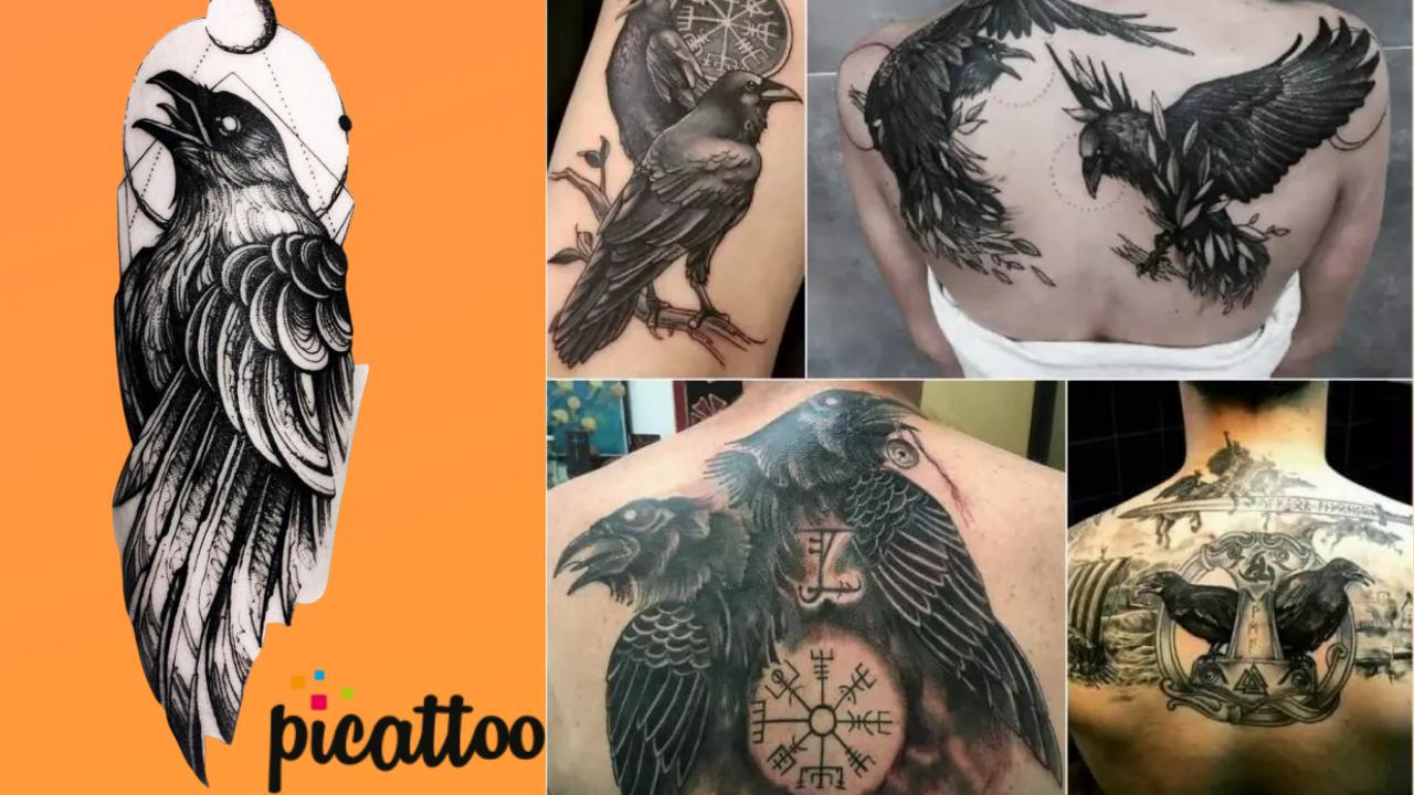 Best Raven Tattoos