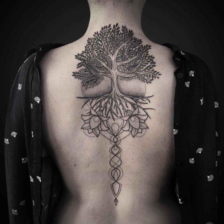 Back Tattoo design 1