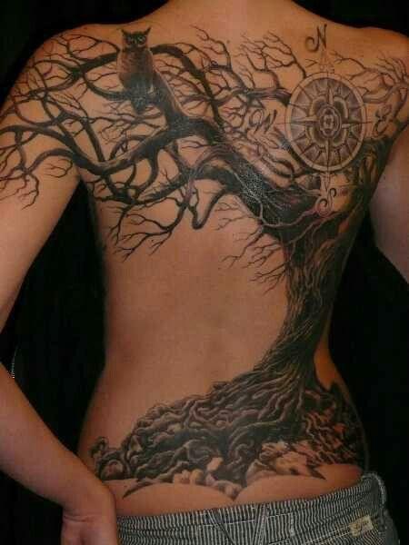 Back Tattoo design 11