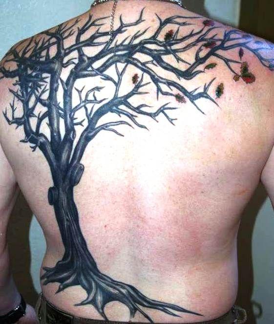 Back Tattoo design 12