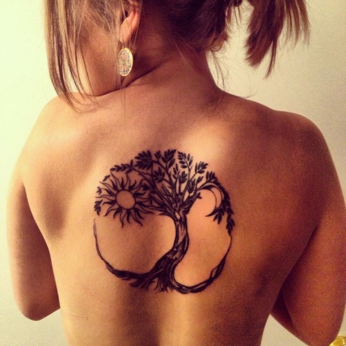 Back Tattoo design 13