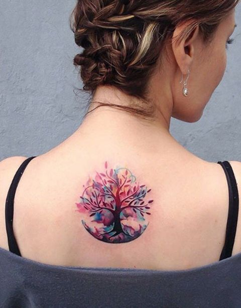 Back Tattoo design 9