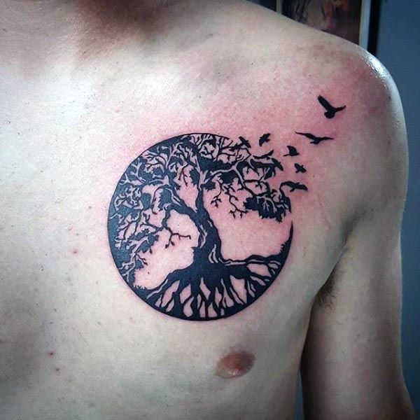 Chest Tattoo design 3