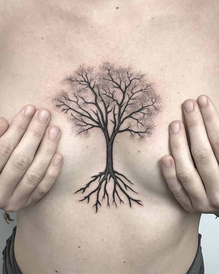 Chest Tattoo design 5