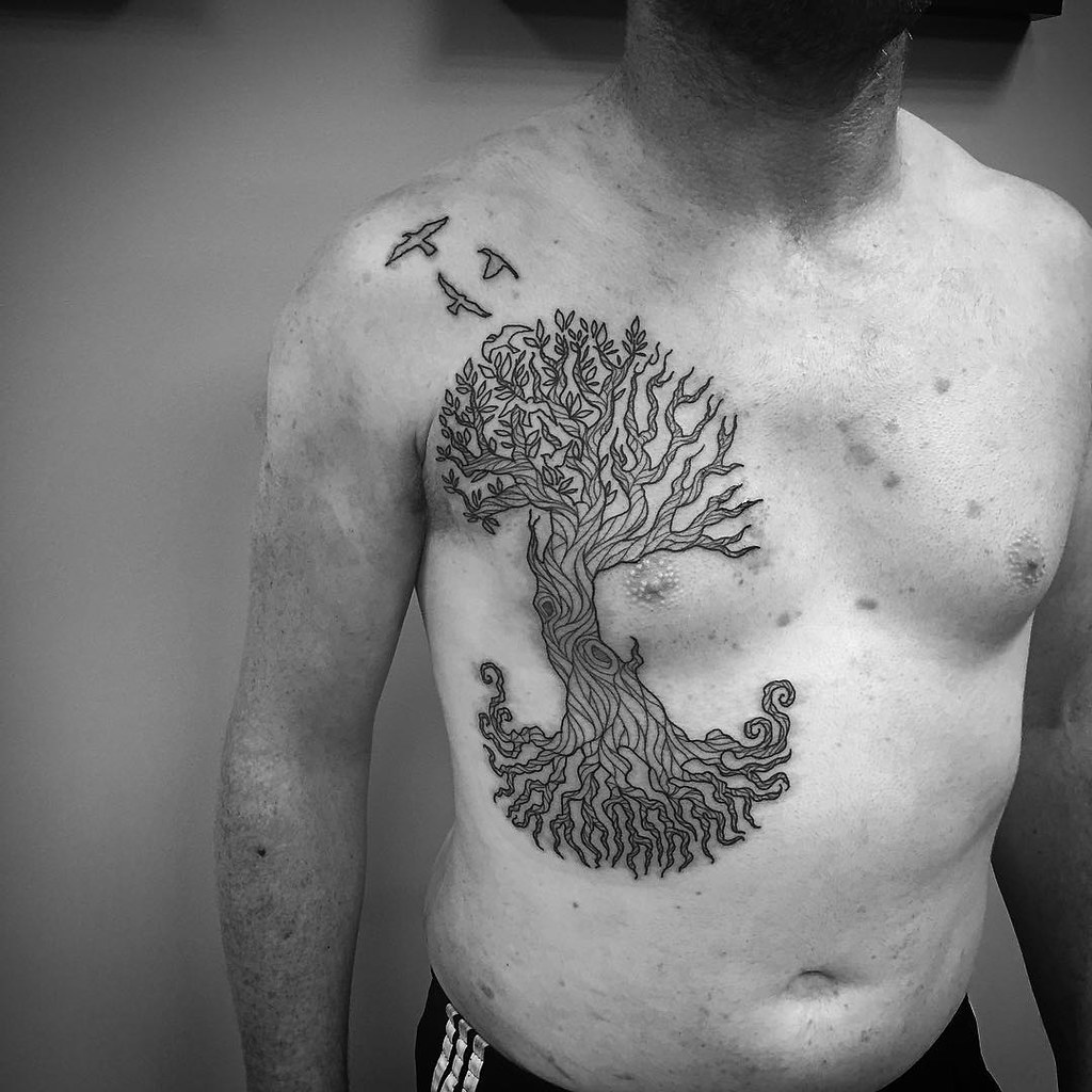 Chest Tattoo design 7
