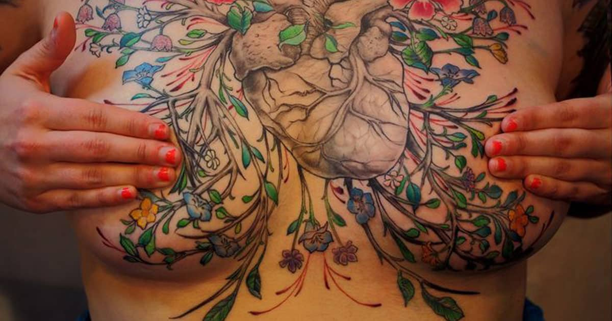 Chest Tattoo design 9