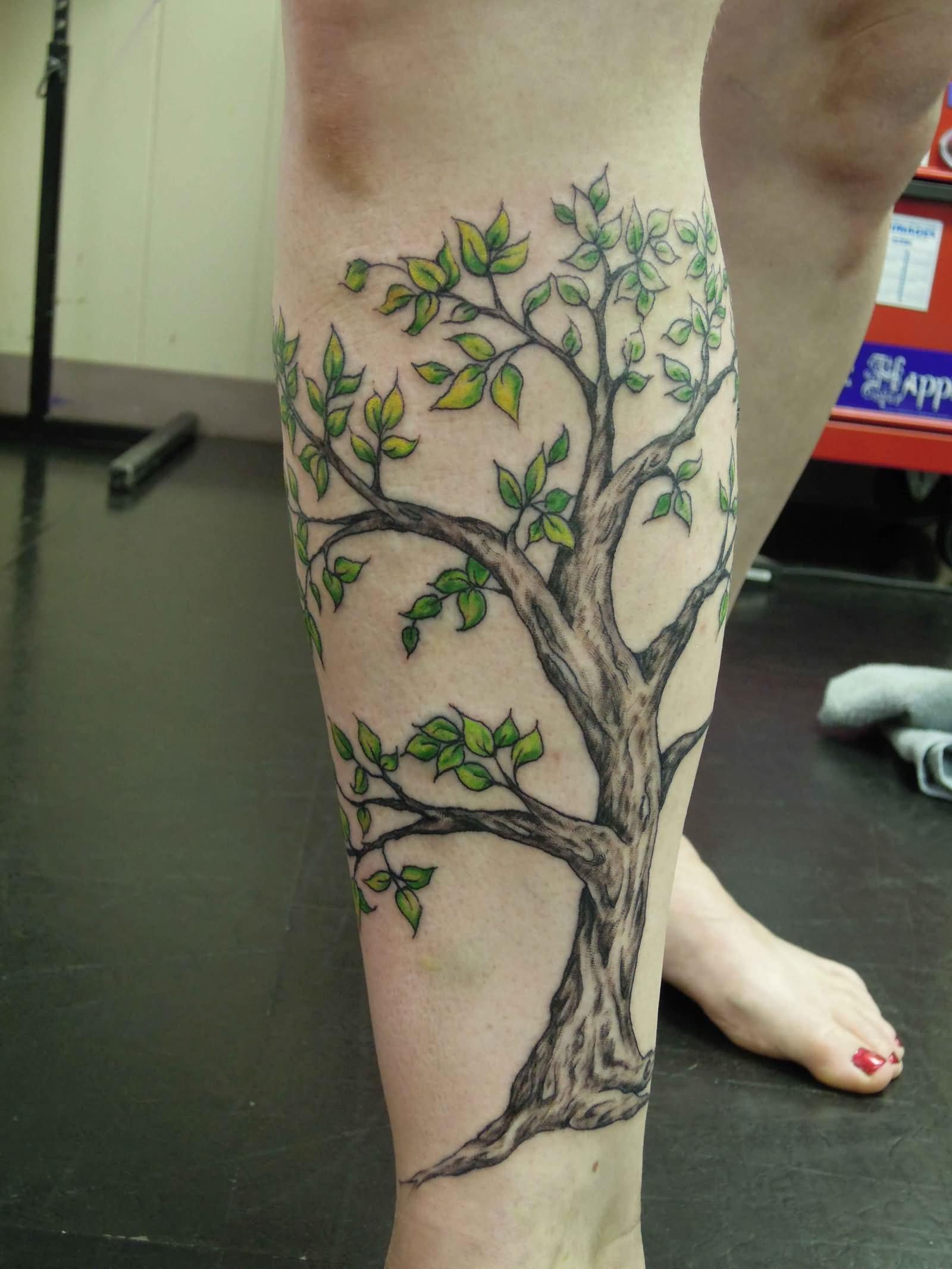 Legs Tattoo design 15