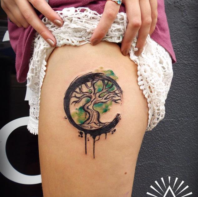 Legs Tattoo design 2