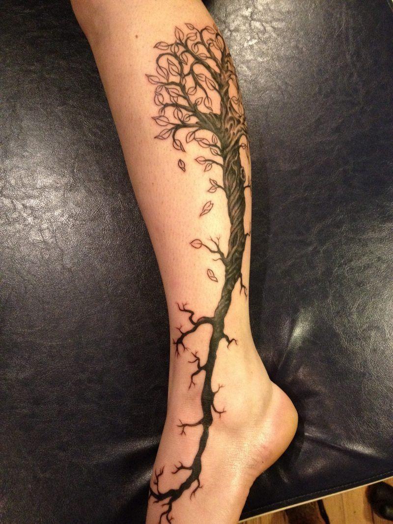 Legs Tattoo design 3