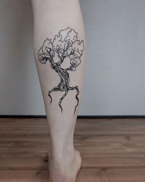 Legs Tattoo design 4