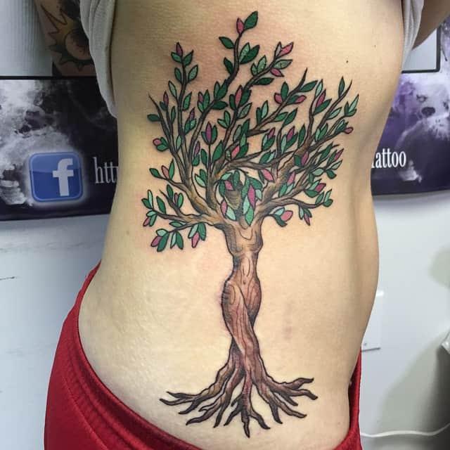 Ribs Tattoo design 15