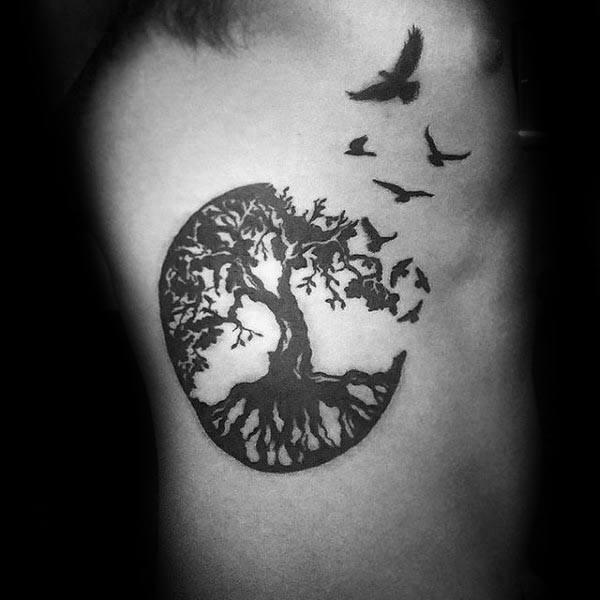 Ribs Tattoo design 3