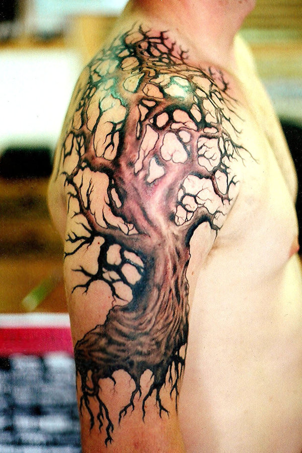 Forearms Shoulders Tattoo design 5