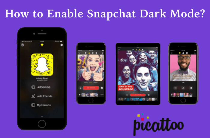 How to Enable Snapchat Dark Mode